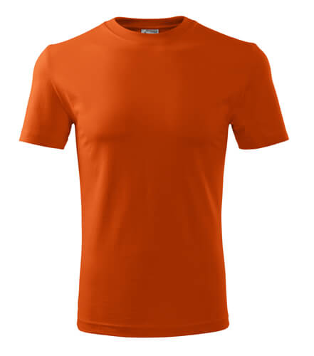 tricou clasic new portocaliu