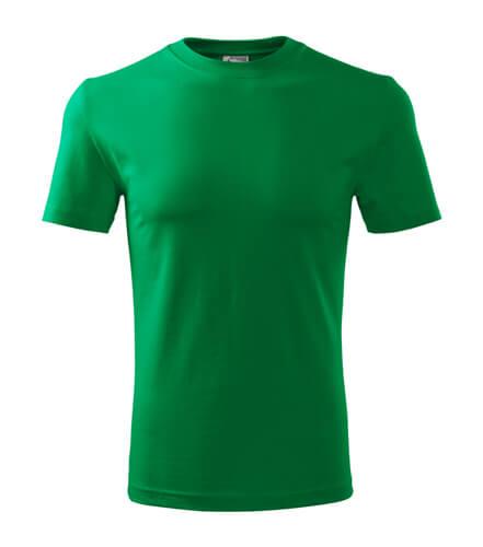 tricou clasic new verde mediu