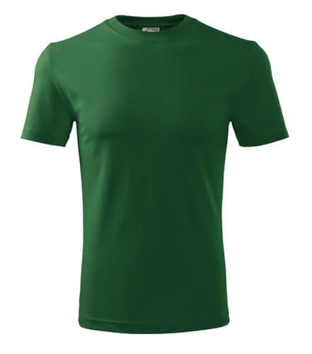 tricou clasic new verde sticla