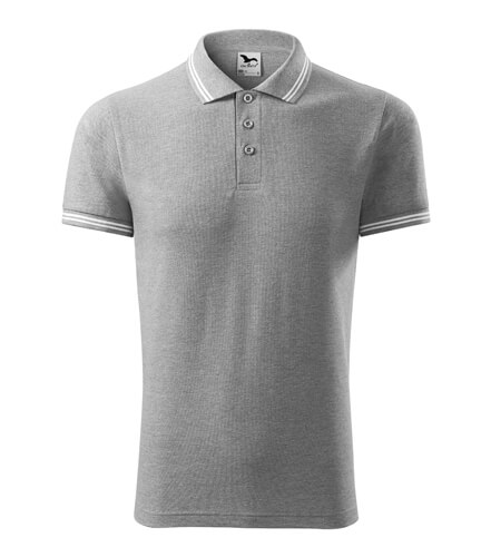 tricou polo urban cenusiu inchia