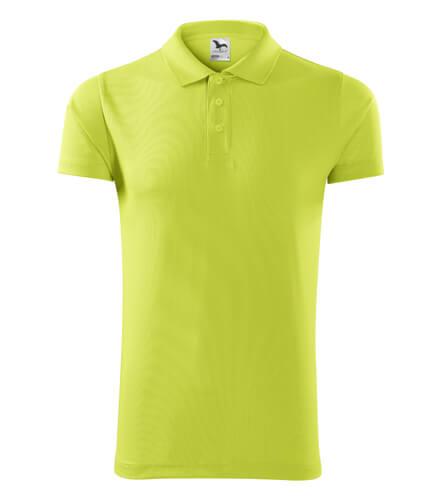 tricou polo victory lime