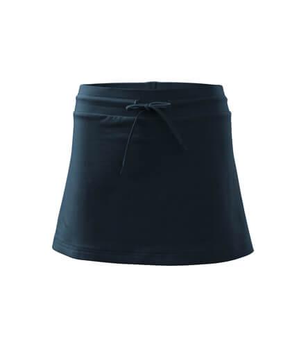 fusta pantalon albastru marin
