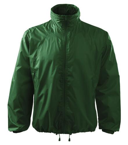 jacheta de protectie impotriva vantului verde sticla