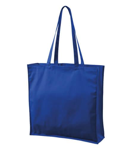 sacosa mare pentru cumparaturi albastru regal