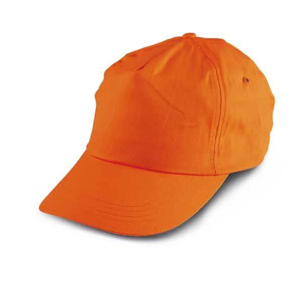 sapca baseball portocalie