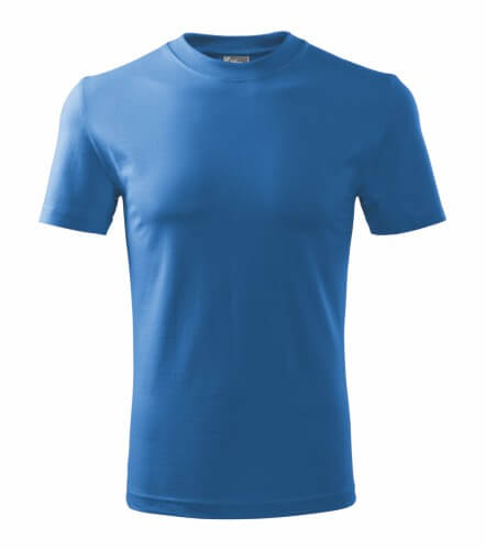 tricou copii basic albastru azuriu