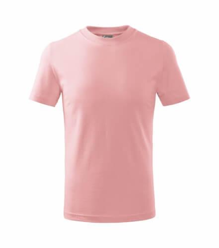 tricou copii basic roz