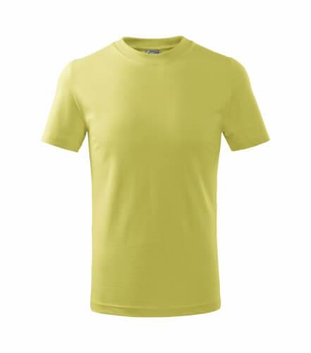 tricou copii basic verde deschis