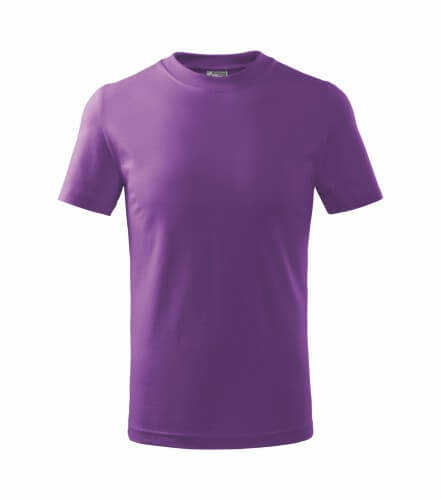 tricou copii basic violet