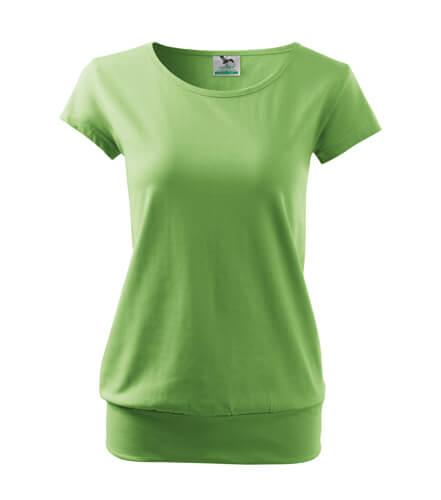 tricou dama city verde iarba