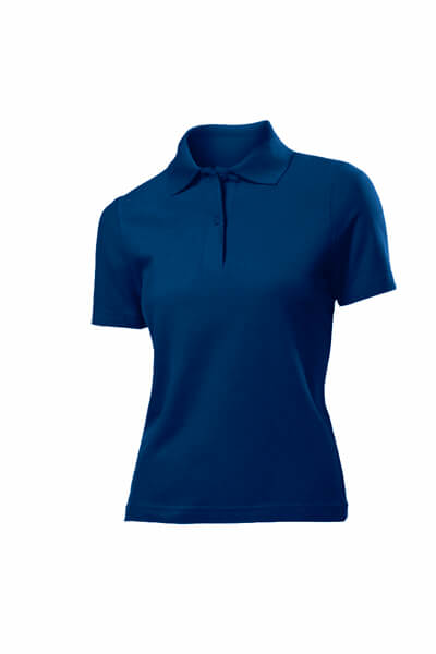 tricou super polo dama albastru navy