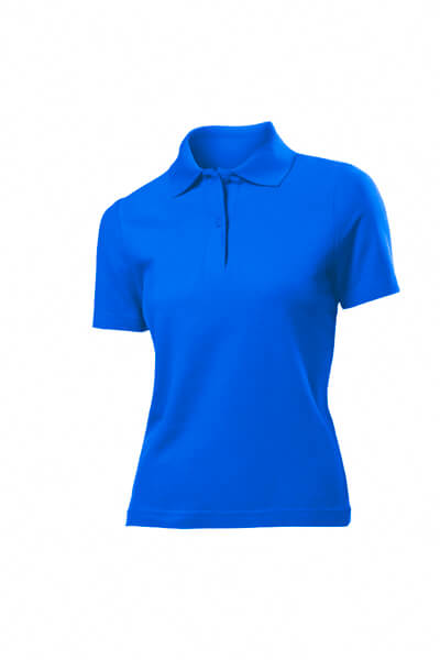 tricou super polo dama albastru royal