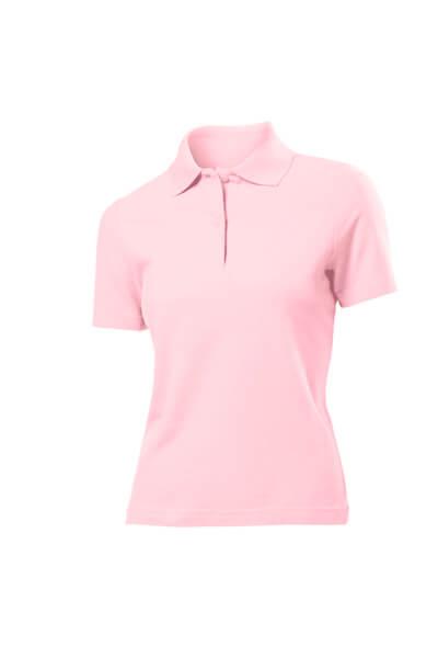 tricou super polo dama roz