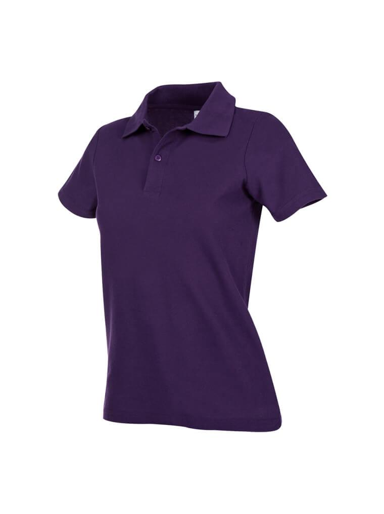 tricou super polo dama violet ok