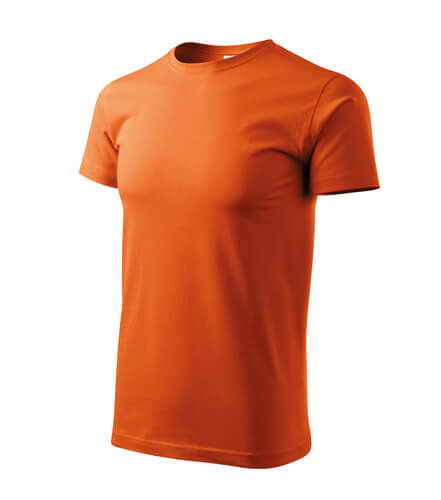 tricou basic portocaliu