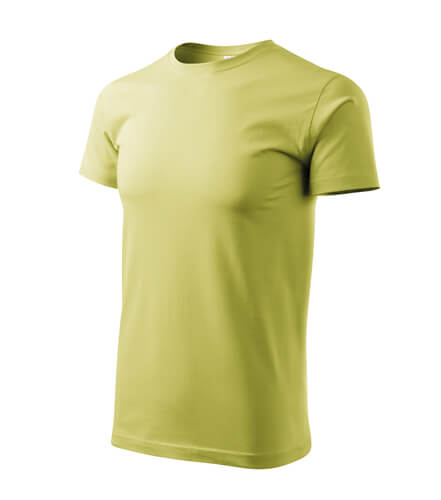 tricou basic verde deschis