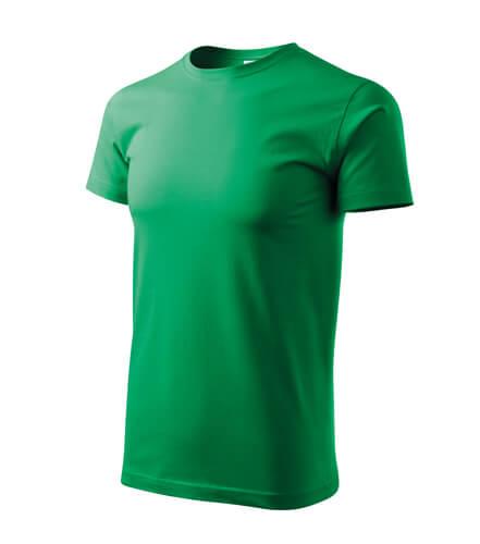 tricou basic verde mdiu