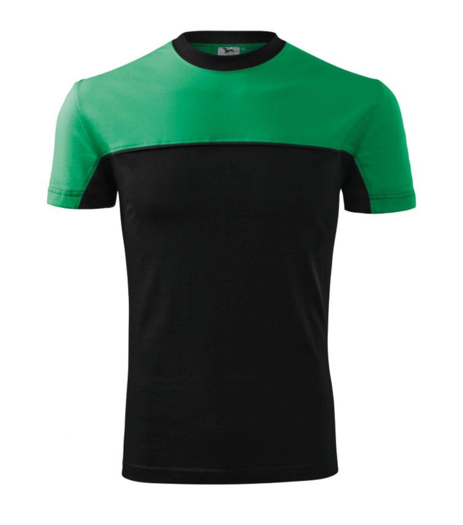 tricou colormix verde
