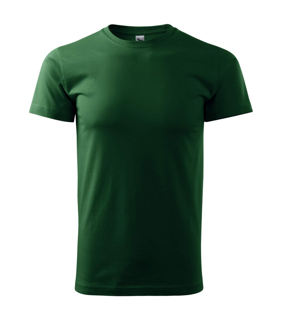 tricou new heavy 200 verde sticla