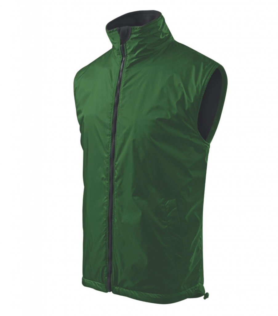 vesta unisex body warmer verde sticla