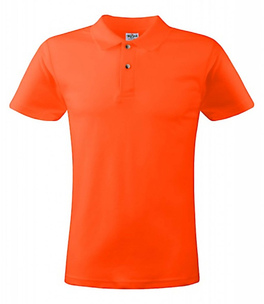 polo barbati DARK ORANGE