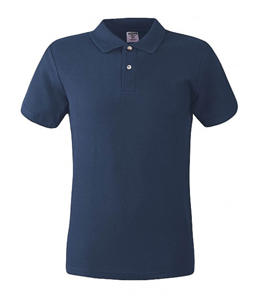 polo barbati DENIM BLUE