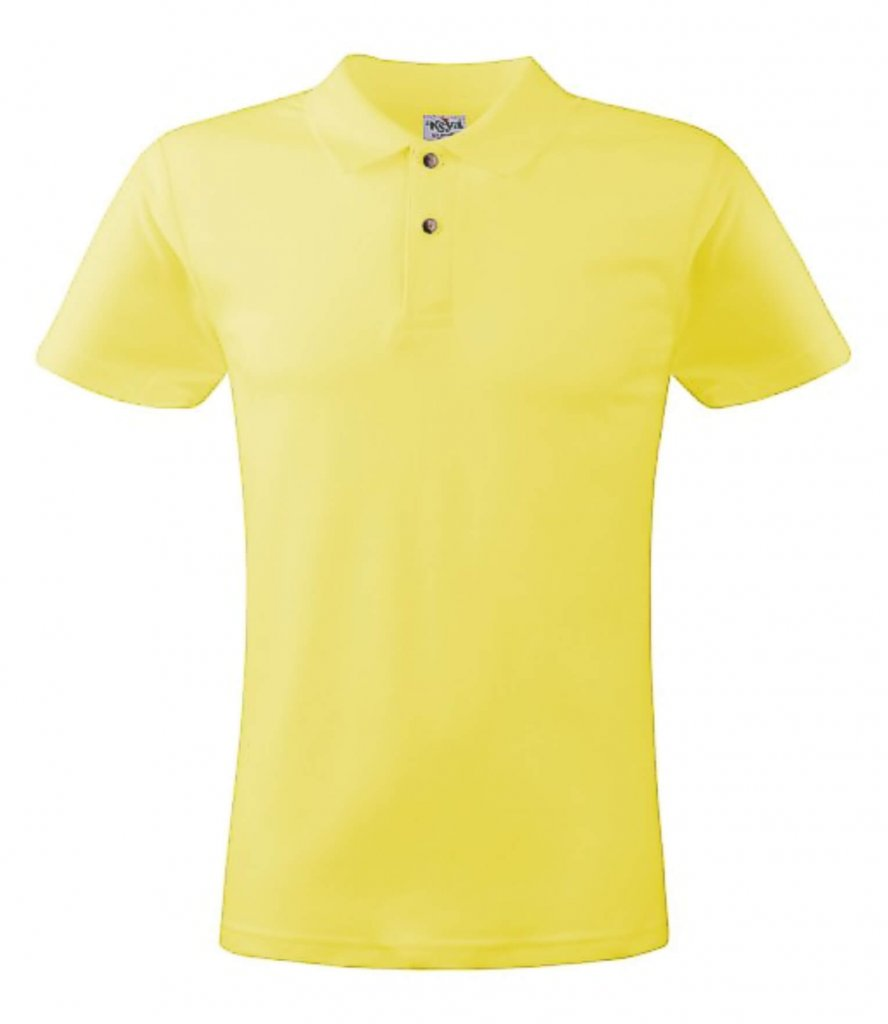 polo barbati yellow