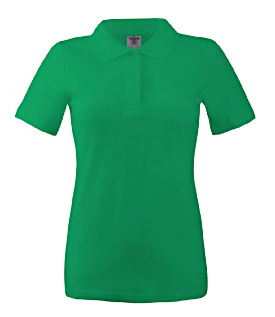 polo dama wps 180 dark kelly green