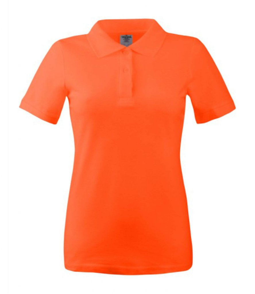 polo dama wps 180 dark orange