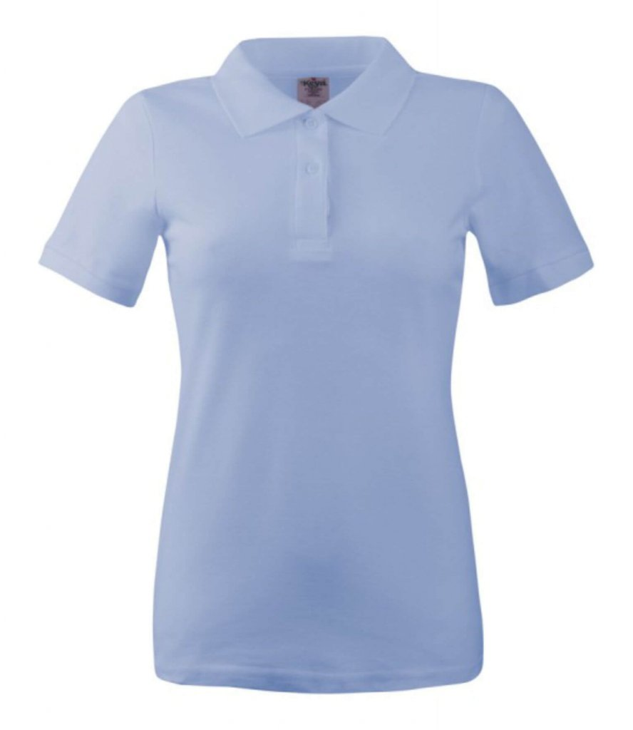 polo dama wps 180 light blue
