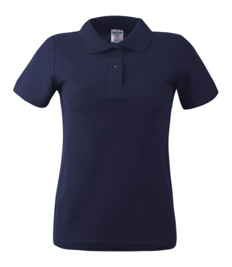 polo dama wps 180 navy blue