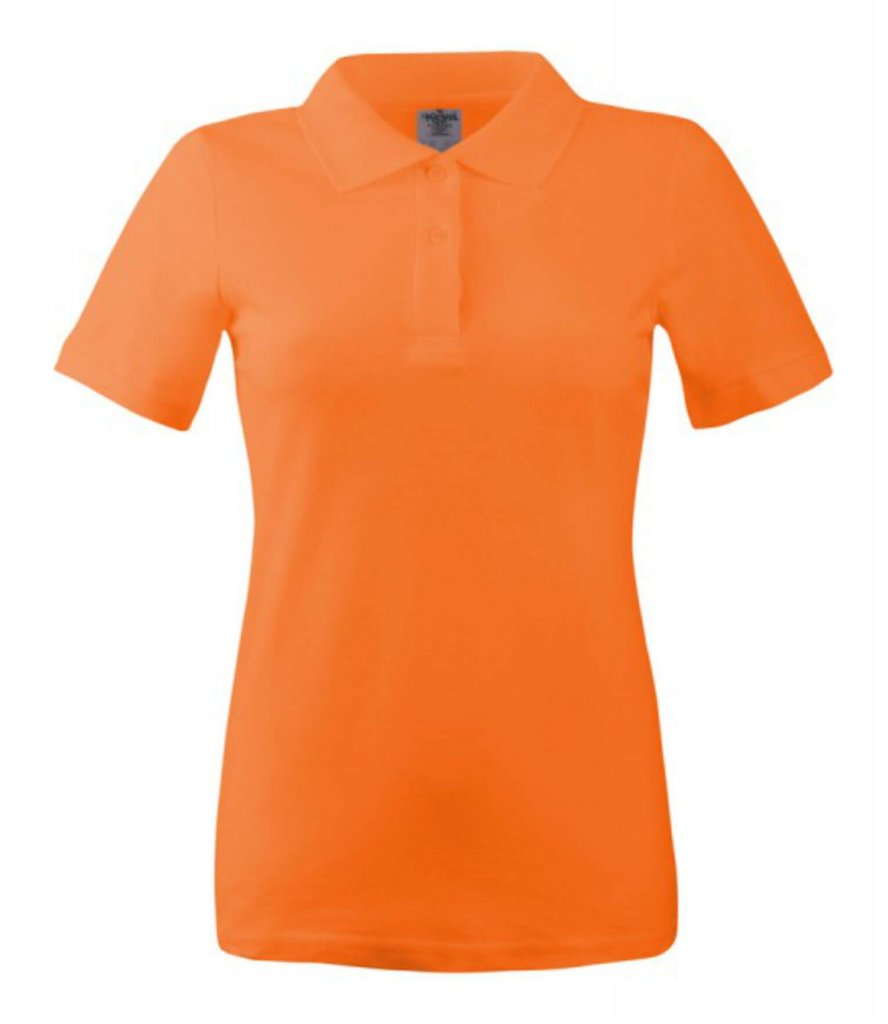 polo dama wps 180 orange