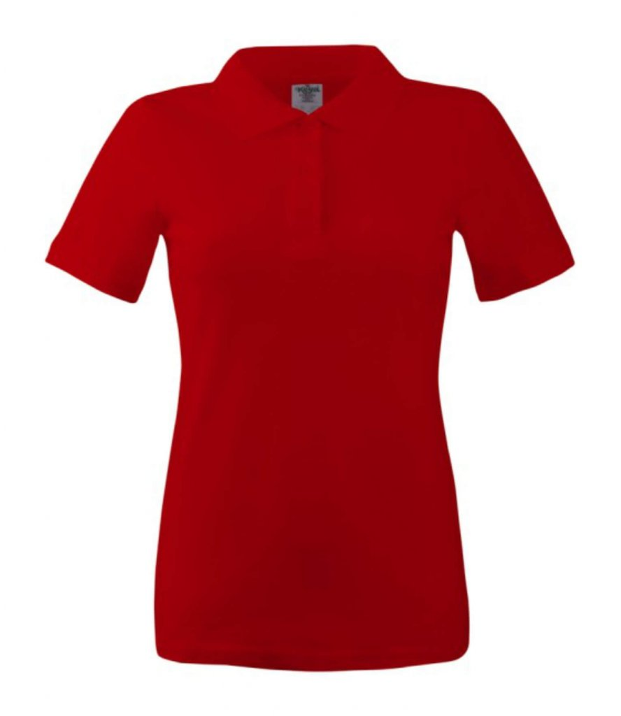 polo dama wps 180  red