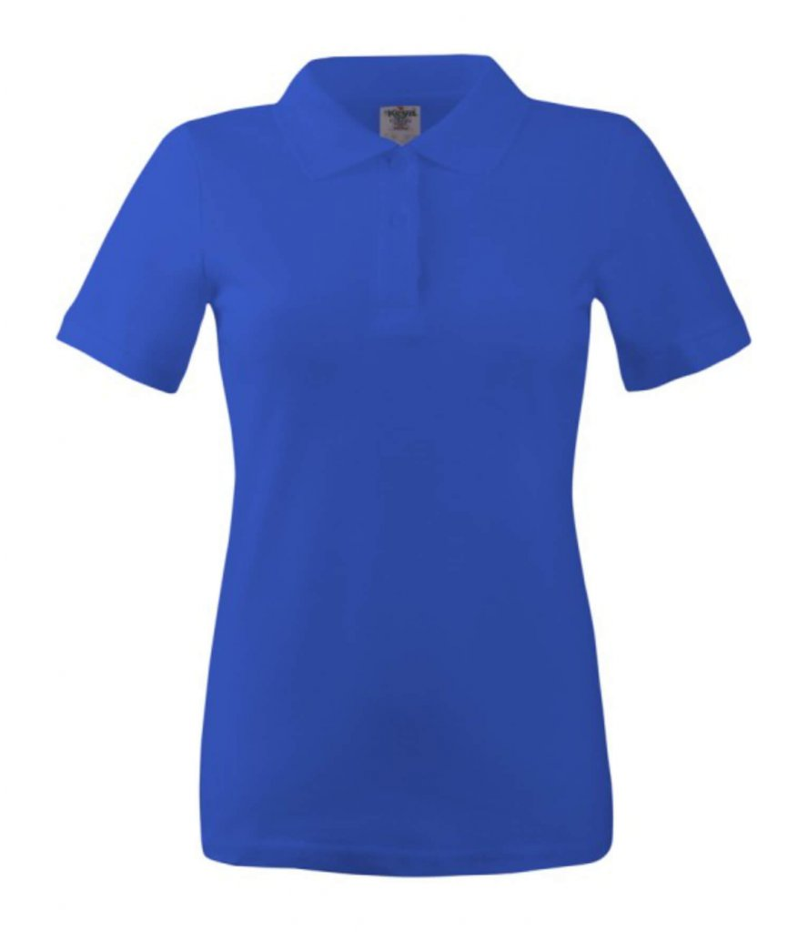 polo dama wps 180 royal blue