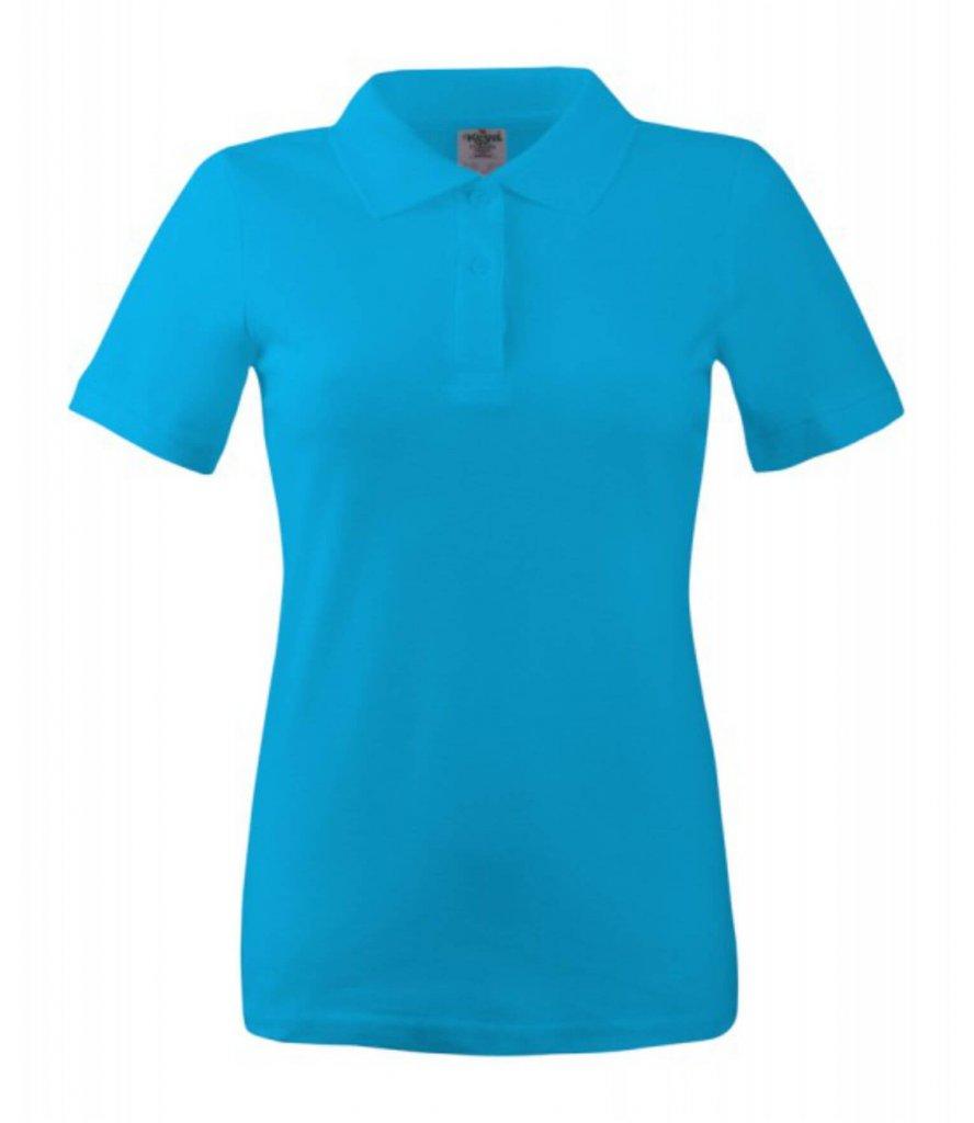 polo dama wps 180 turquoise