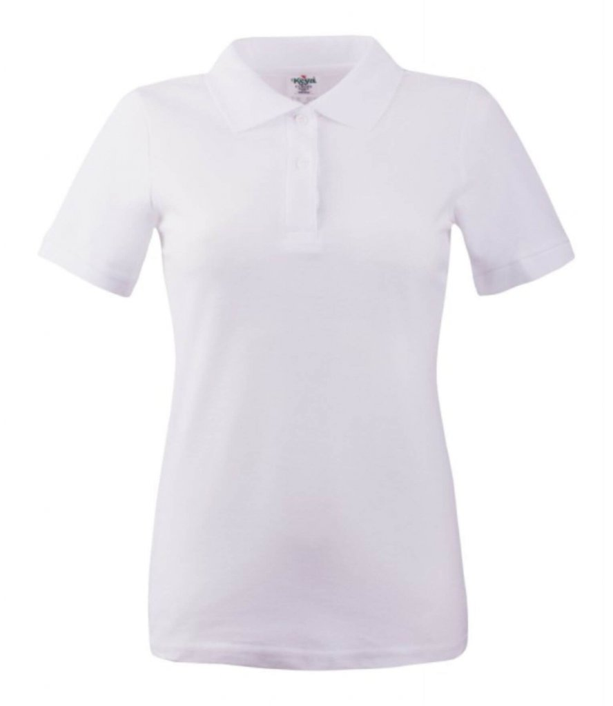 polo dama wps 180  white