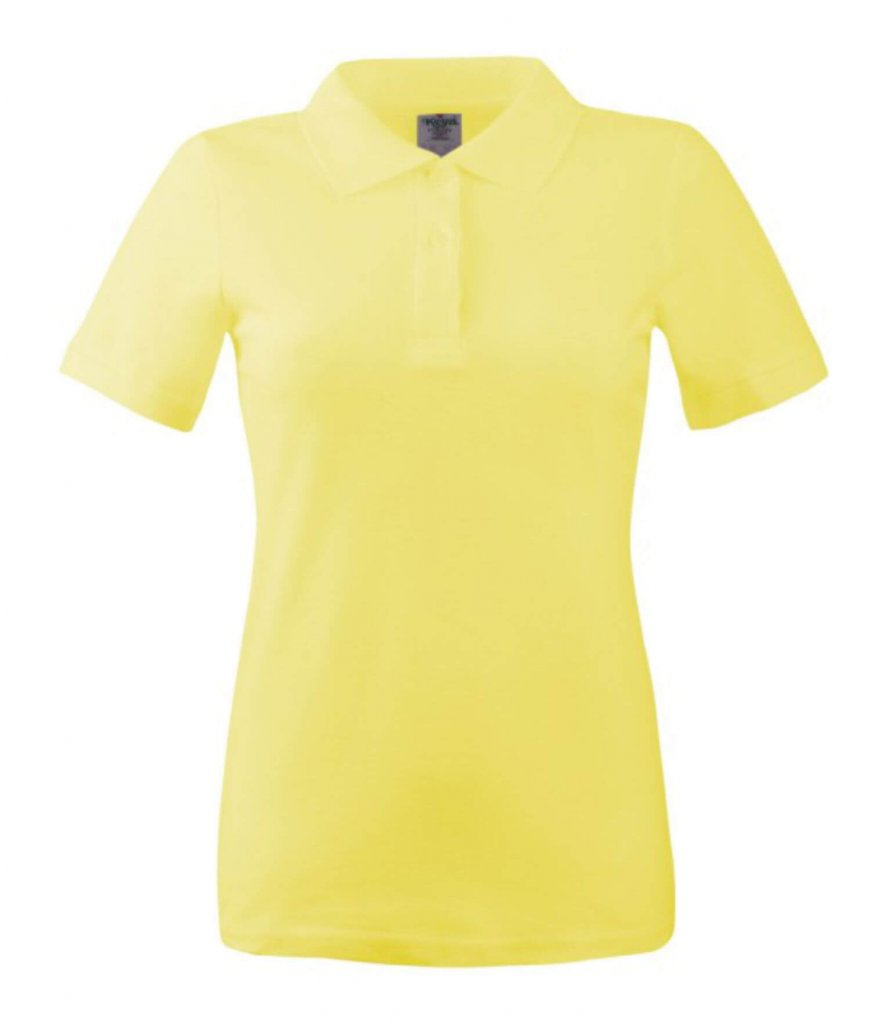 polo dama wps 180 yellow
