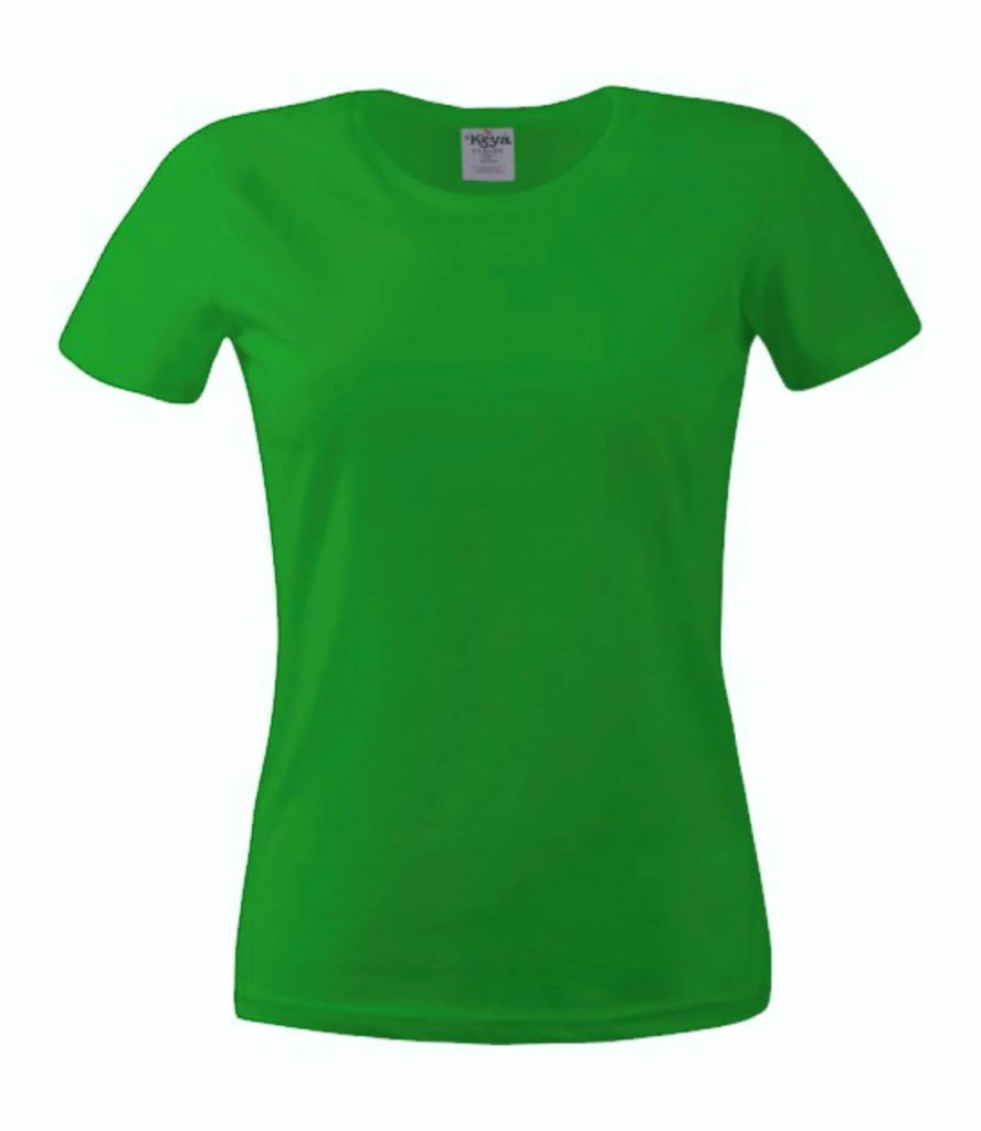 tricou dama 150 kelly green