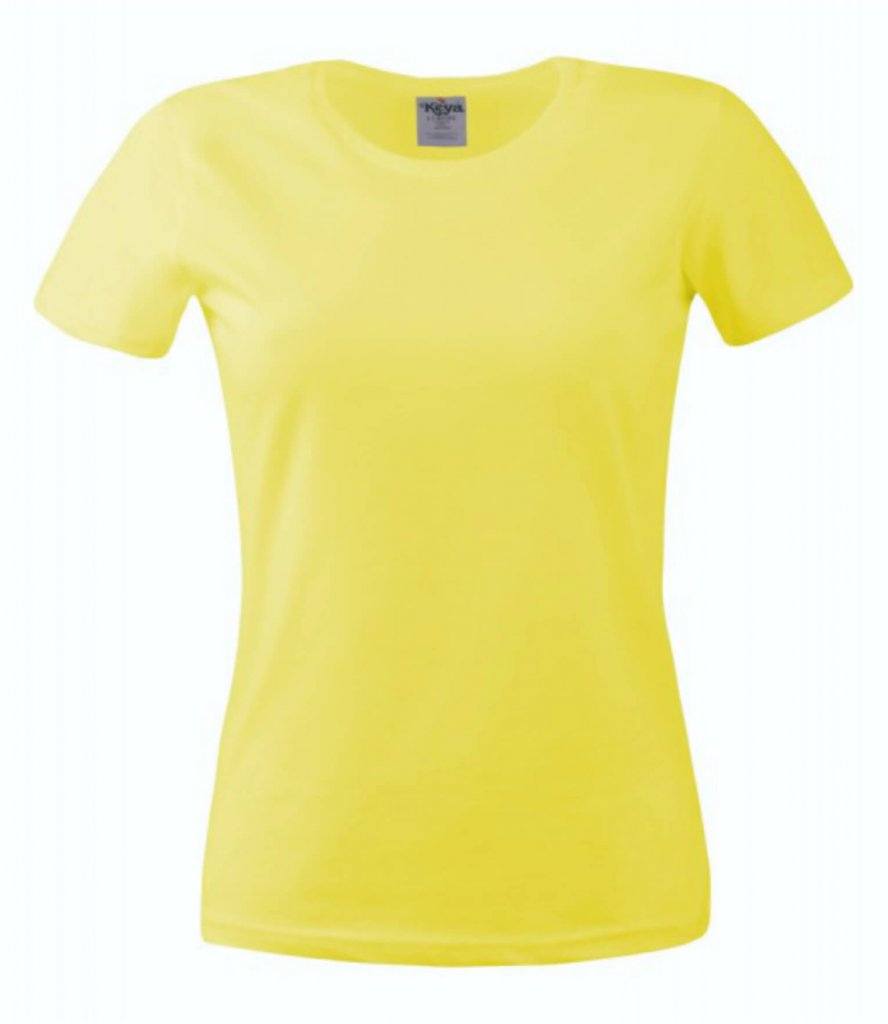 tricou dama 150 yellow