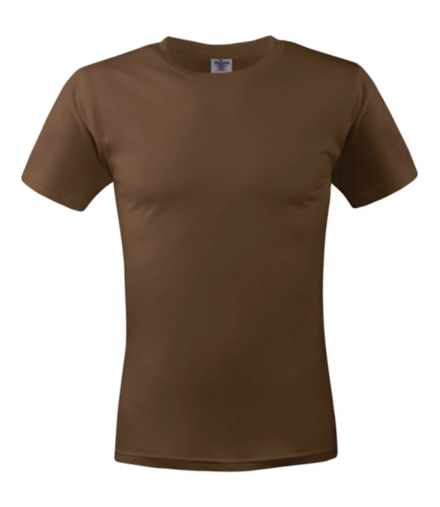 tricou unisex MC 150 brown