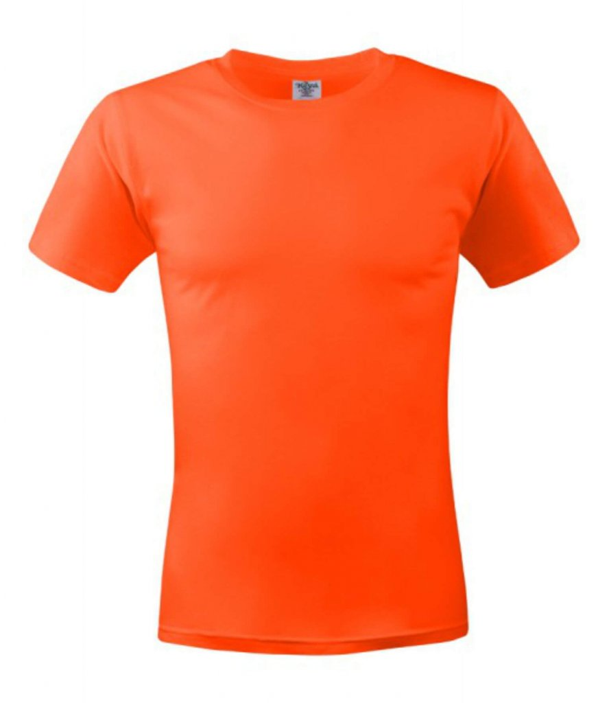tricou unisex MC 150 dark orange