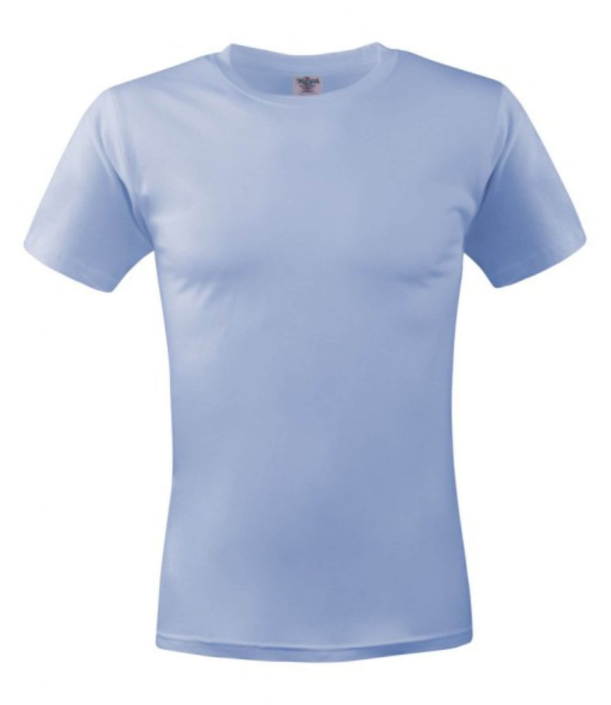 tricou unisex MC 150 light blue