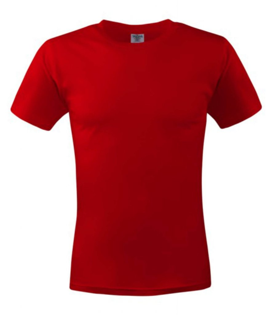 tricou unisex MC 150  red