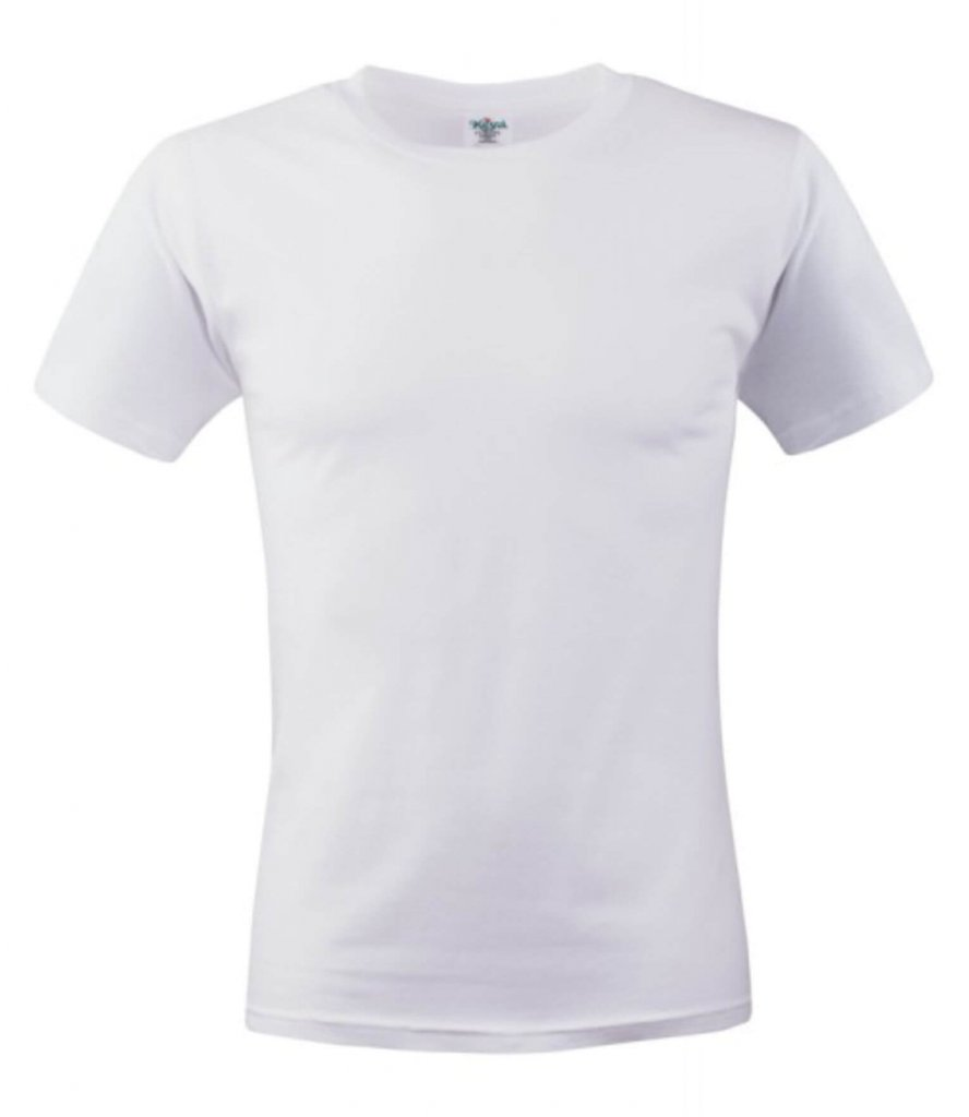 tricou unisex MC 150  white