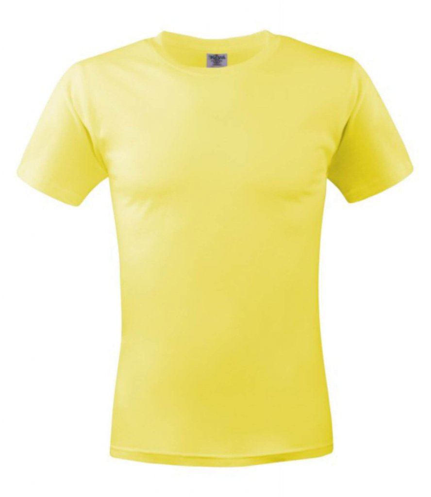 tricou unisex MC 150 yellow