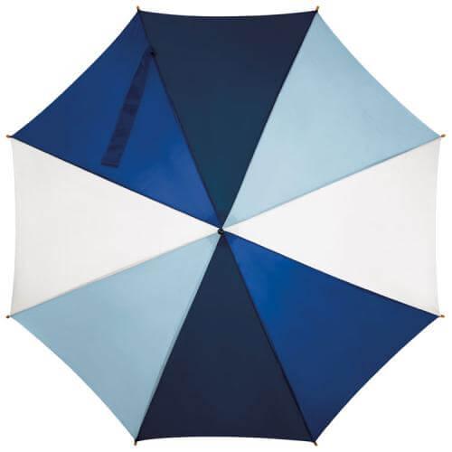 umbrela alb albastru deschis inchis
