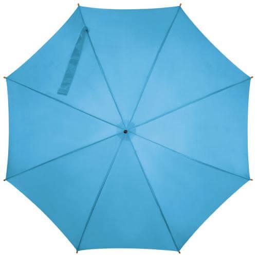 umbrela albastru deschis