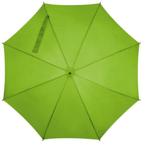 umbrela verde iarba