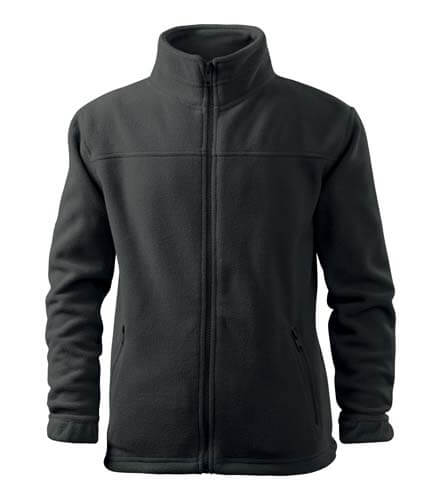 jacheta fleece copii gri metalic