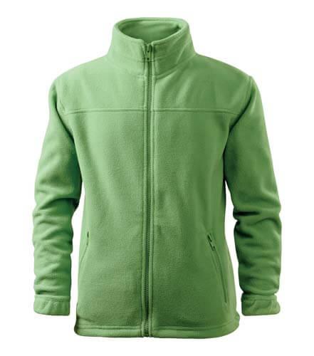 jacheta fleece copii verde iarba
